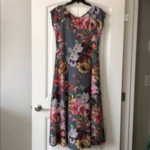 Size 1X printed floral soft dress. NWT